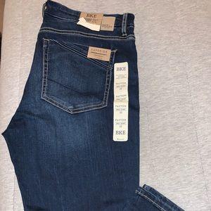 BKE Jeans dark wash Payton skinny ankle jeans 14
